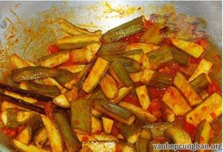 Cách nấu bún ốc chuối đậu ngon tuyệt8