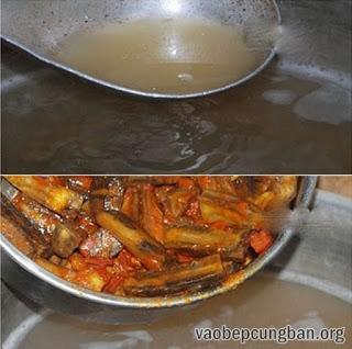 Cách nấu bún ốc chuối đậu ngon tuyệt9