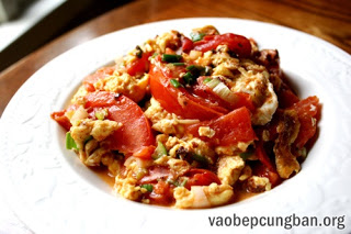 Cách làm trứng chưng cà chua giản dị ngon cơm7